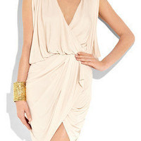 Haute Hippie | Draped crepe wrap dress | NET-A-PORTER.COM
