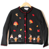 """Twerky Turkey"" Tacky Ugly Thanksgiving Sweater - The Ugly Sweater Shop"