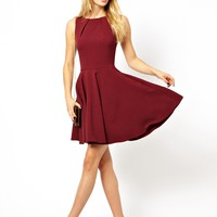 Closet | Closet Fit and Flare Skater Dress at ASOS
