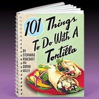 Tortilla Cookbook @ Harriet Carter