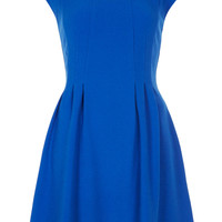 Crepe Seam Flippy Dress - Topshop USA