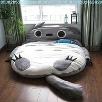 JuniorPartner,Totoro Design Bigsofa 2.7x1.7m Totoro Bed Totoro Double Bed Totoro Sleeping Bag
