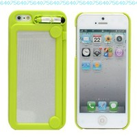 Creative Writing Drawing Doodle Scribble Board Pad Case Cover for iPhone 5 6th Green:Amazon:Cell Phones & Accessories