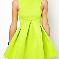 AQ AQ Major Structured Skater Dress at asos.com