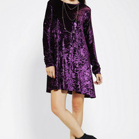 Urban Outfitters - Bitching & Junkfood Algardi Velvet Swing Dress