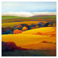 Golden Hill Canvas Print