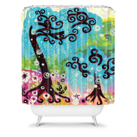 DENY Designs Home Accessories | Natasha Wescoat Coastal Glimmer Shower Curtain