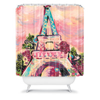 DENY Designs Home Accessories | Natasha Wescoat Lumiere De La Ville Shower Curtain