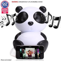 GOgroove Panda Pal Deluxe Portable High-Powered Stereo Speaker System for Smartphones / Laptops / MP3 Players  More!