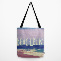 Beach Bum Tote Bag by Josrick