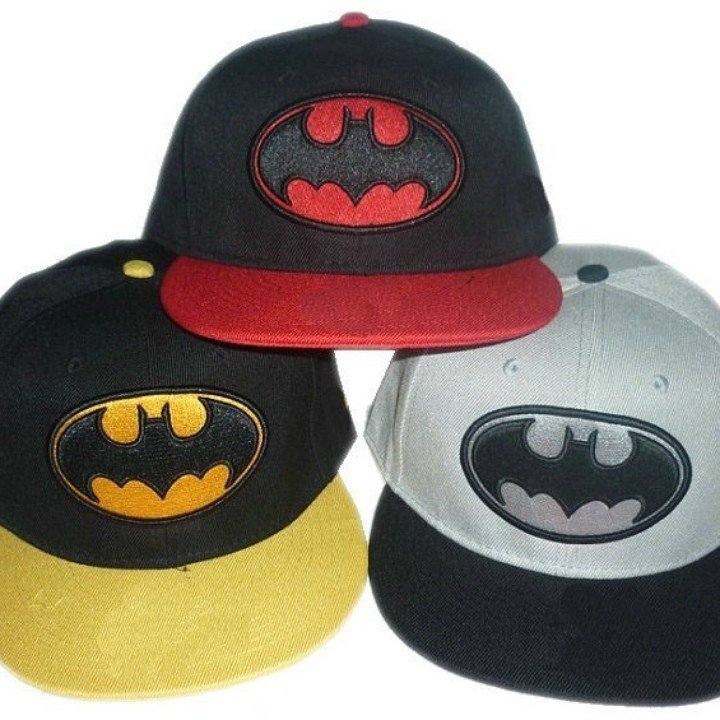 Cool Snapback Hats: COOL BATMAN LOGO SNAPBACK HAT From Square Market