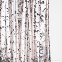 Urban Outfitters - Birch Tree Shower Curtain