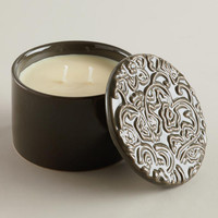 Coconut Passion Filled Ceramic Candle | World Market
