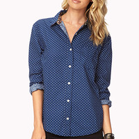 Essential Polka Dot Button-Down