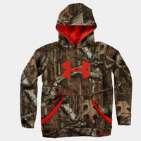 Boys' Camouflage Big Logo Hoodie | 1220777 | Under Armour US