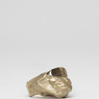 Totokaelo - Maison Martin Margiela Brass Mountain Ring - $410.00