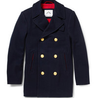 Ovadia & Sons Wool-Blend Peacoat | MR PORTER