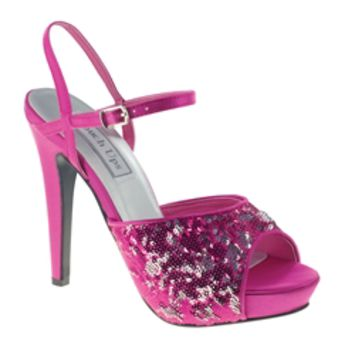 fuschia prom shoes homecoming shoes from gowngarden