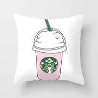 Starbucks by Kate Throw Pillow by Kate