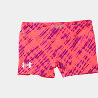 Girls' HeatGear Sonic 3 Printed Shorts | 1235234 | Under Armour US