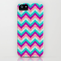 Chevron - Girly iPhone & iPod Case by Jacqueline Maldonado