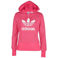 adidas Originals Trefoil Lips Pullover Hoodie - Women's at Foot Locker
