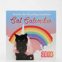 Kate Funk Awesome Cat 2014 Calendar