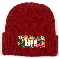 Patterns Beanie | Yea.Nice - It's A Brand.