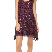 Free People Beaded Mesh Cocktail Dress | SHOPBOP