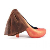 Irregular Choice | Womens | Heel | Frilly Knickers (in orange)