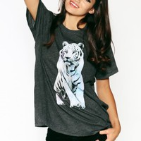 Shine Bright Tiger Oversized T