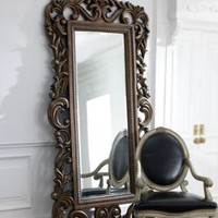 Baroque Scroll Mirror - Horchow