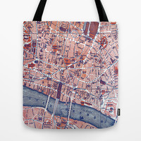 City of London Tote Bag by Ally Coxon
