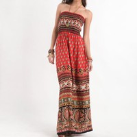 Kirra Womens Bazaar Maxi Dress