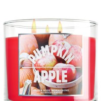Pumpkin Apple 14.5 oz. 3-Wick Candle   - Slatkin & Co. - Bath & Body Works