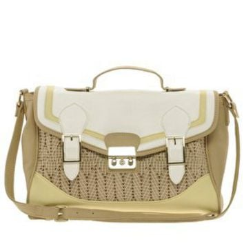 River Island | River Island Weave Satchel at ASOS