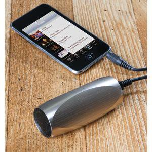 Aluminum Sound Tube MP3 Speaker