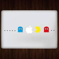 Pacman Macbook/Pro/Air Decal Sticker