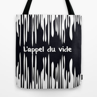 L'appel du vide Tote Bag by Good Sense