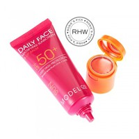 DAILY FACE MATTIFYING SUNSCREEN AND LIPBALM SPF50+  | ModelCo