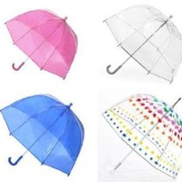 Kids Clear Bubble Umbrella by totes