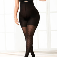 SPANX® Tight-End dotted lines tights