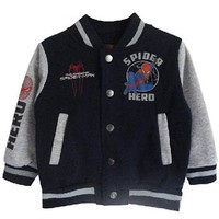Autumn/Fall New Boy Spiderman Baseball Jacket Children Hot Sweatshirt Outerwear