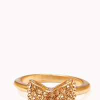 Rhinestoned Bow Ring | FOREVER 21 - 1060267681