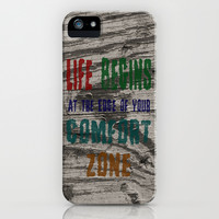 Comfort Zone iPhone & iPod Case by Alice Gosling