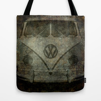 VW Ghost Kombi Tote Bag by Bruce Stanfield