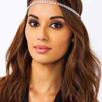 Chain-ge-Is-Good-Headband GOLD SILVER - GoJane.com