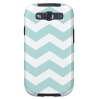 Blue Chevron Pattern Samsung Galaxy S III Case Galaxy S3 Covers