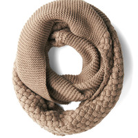 Chill Out on the Town Scarf in Taupe | Mod Retro Vintage Scarves | ModCloth.com