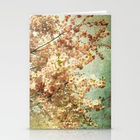 In love with life Stationery Cards by inourgardentoo | Society6